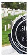 Arlington National Cemetery Part 1 Beach Towel