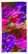 Art Abstract Background 97 Beach Towel