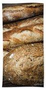 Artisan Bread Beach Towel by Elena Elisseeva