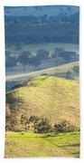 Australian Landscape Beach Towel