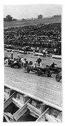 Auto Race, C1922 Beach Towel
