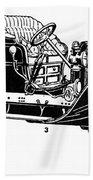 Automobile, 1907 Beach Towel