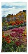Autumn In Full Bloom Beach Towel