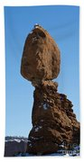 Balanced Rock Arches National Park Utah Beach Towel