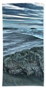 Bandon Beach Swirls Beach Towel