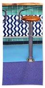 Bar Stools Beach Towel