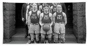 Basketball Team, 1920 Beach Towel