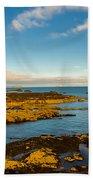 Bass Rock From Dunbar Beach Towel