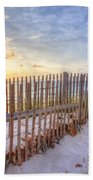 Beach Fences Beach Towel