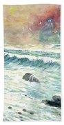 Beach Tide Beach Towel