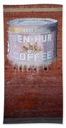 Ben Hur Coffee Beach Towel