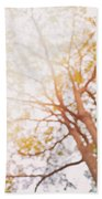 Beneath A Tree  14 5284  Diptych  Set 1 Of 2 Beach Towel