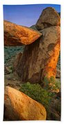Big Bend Window Rock Beach Towel