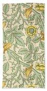 Bird Wallpaper Design Beach Towel