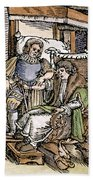 Bloodletting, 1540 Beach Towel