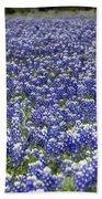 Blue Bonnet Carpet V7 Beach Towel