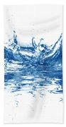 Blue Fresh Water  Beach Sheet