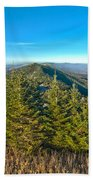 Blue Ridge Mountains North Carolina Beach Towel