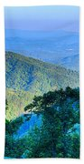 Blue Ridge Parkway National Park Sunset Scenic Mountains Summer  Beach Towel