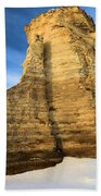 Blue Skies At Monument Rocks Beach Towel