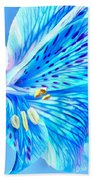 Blue Summer Beach Towel
