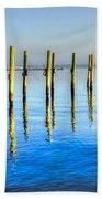 Blue Tide Beach Towel