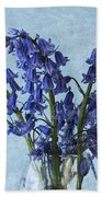 Bluebells 1 Beach Towel