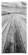 Boardwalk Of Distance Beach Towel