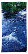 Bog River Falls Beach Towel