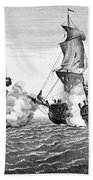 Bonhomme Richard, 1779 Beach Towel