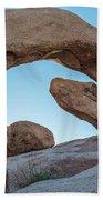 Boulders In A Desert, Joshua Tree Beach Towel