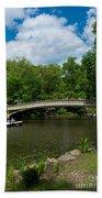 Bow Bridge Central Park Beach Towel