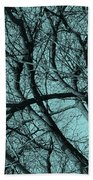 Branches Beach Towel