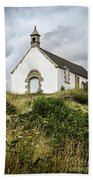Breton Church Beach Towel