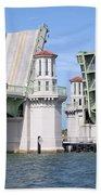 Bridge Of Lions St Augustine Florida Beach Towel