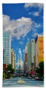 Broad Street - Avenue Of The Arts Beach Towel