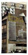 Brooklyn Grafitti Beach Towel