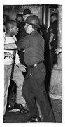 Brooklyn Riots, 1964 Beach Towel