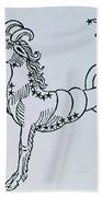 Capricorn Beach Towel