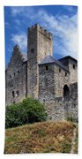 Carcassonne By Day Beach Towel