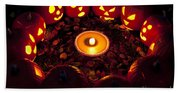 Pumpkin Seance With Pumpkin Pie Beach Towel