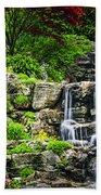 Cascading Waterfall Beach Towel