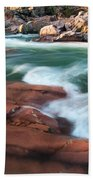 Castor River Beach Towel