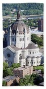 Cathedral Of St. Paul Beach Towel