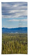 Central Yukon T Canada Taiga And Ogilvie Mountains Beach Towel