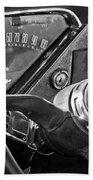 Chevrolet Steering Wheel Emblem Beach Towel