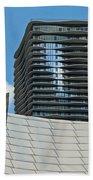 Chicago Architecture Beach Towel