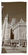 Chicago Skyscrapers Beach Towel