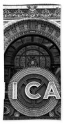 Chicago Theater Marquee Beach Towel