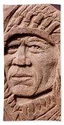 Chief-iron-tail Beach Towel